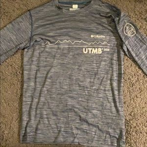 Columbia race shirt from the UTMB race in France!